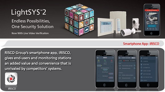Lightsys2 - Alarm Systems - Risco - Alarm Packages