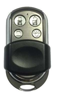 Bosch Remote Control, 4 Button, Stainless Steel with slide cover,HCT-4UL