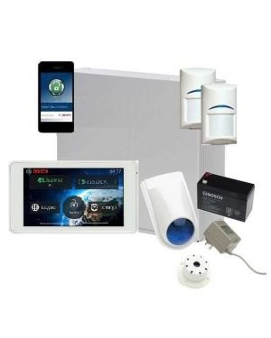 "Bosch Solution 2000 Alarm System with 2 x Gen 2 Quad Detectors+ 5"" Touch Screen Code pad+ IP Module"