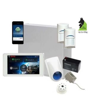 "Bosch Solution 2000 Alarm System with 2 x Gen 2 Tritech Detectors+ 5"" Touch Screen Code pad+ IP Module"