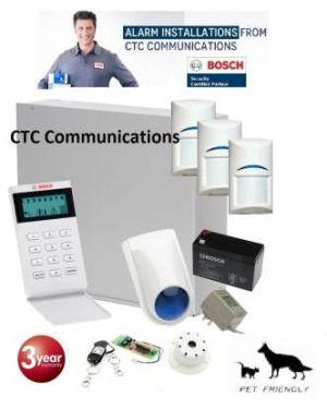 Bosch Solution 2000 Alarm System for Single Storey Home Installed Western Sydney Area only, Pet Friendly with Remotes