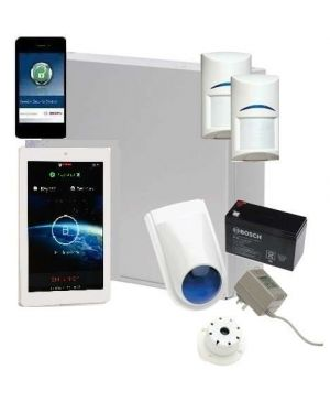 "Bosch Solution 2000 Alarm System with 2 x Gen 2 PIR Detectors+ 7"" Touch Screen Code pad+ IP Module"