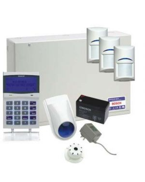 Bosch Solution 6000 Alarm System with 3 x Gen 2 Standard Detectors