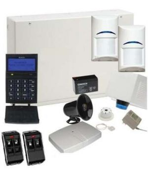Bosch Solution 6000 Alarm System with 2 x Wireless PIR Detectors+ Graphic codepad (Plastic Remotes)