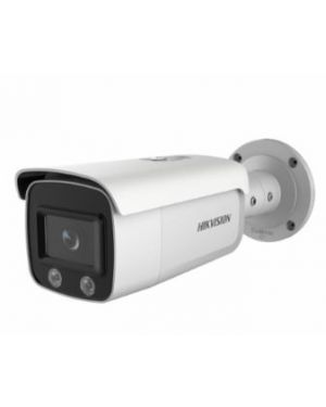 Hikvision 4MP Outdoor ColorVu Turret Camera, WDR, 30m, MIC, IP66, 4mm, HIK-2CD2347G1LU4