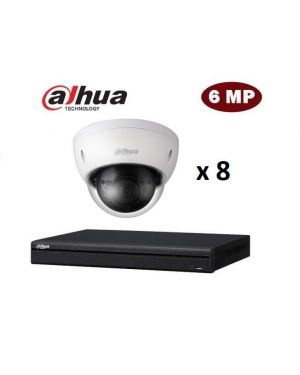 Dahua CCTV IP Kit, 8 Channel with Bullet, 8 Cameras, 4 TB Hard Drive
