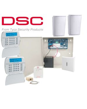DSC Neo Wireless Home Alarm System, 2 Detector Kit