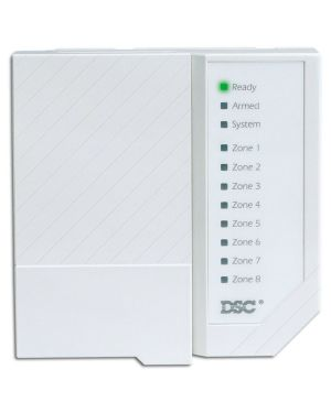 DSC Security System Zone Control Panel, PC1555