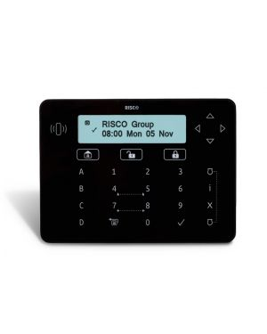 Risco LightSYS™2 elegant keypad in Black or White