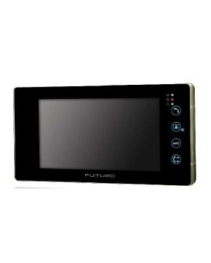 """Futuro 7"""" Touch Screen monitor with picture memory Black Frame"""