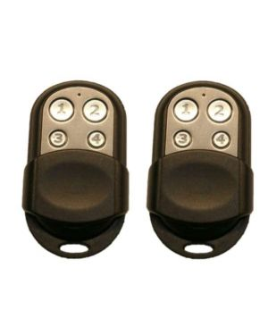 Bosch Remote Control, 4 button Stainless Steel (HCT-4) 2 Pack