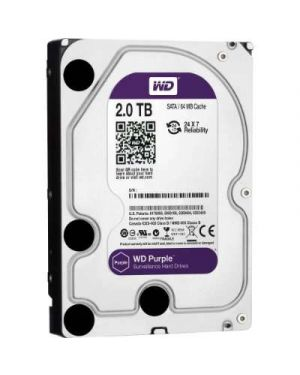 Western Digital 2TB HDD – Purple Surveillance Hard Drive