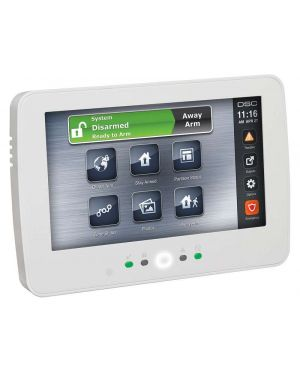 DSC Power Series LCD Wire Free Keypad, 128 Zone, HS2LCDWF4