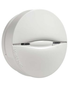 DSC Wireless PowerG Photoelectric Smoke and Built-in Heat Detector, 85dB Alarm Buzzer