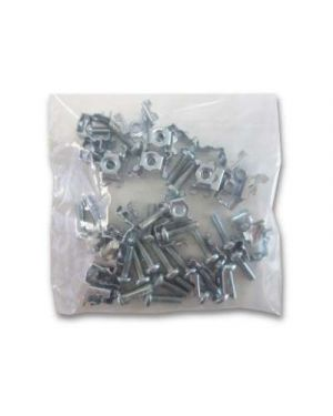 PCB Mounting Clip - Pack of 25 standoffs and screws to mount PCBs in Metalware