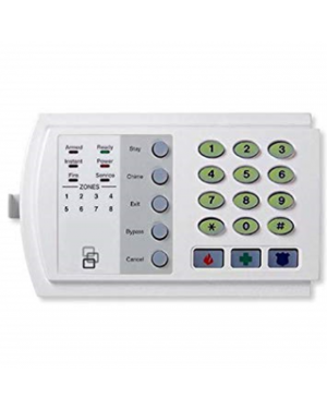 NX Series Code Pad NX-108, 8 zone LED Code Pad