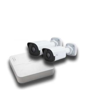 O2 CCTV IP Surveillance Kit 2 Megapixels, 2 Cameras-Fixed lens