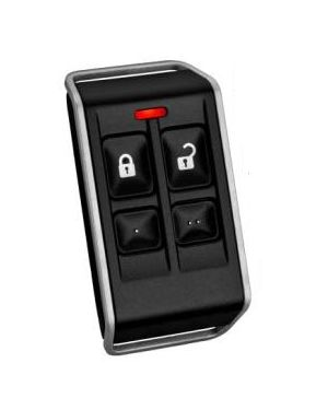 Bosch Wireless 4 button Keyfob RF3334E, now replaced with the new Radion remotes, RFKF-FB