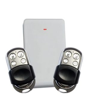 Bosch 6000 Premium Remote Control Kit, Wireless Receiver and 2 Remotes with 4 Buttons HCT-4UL