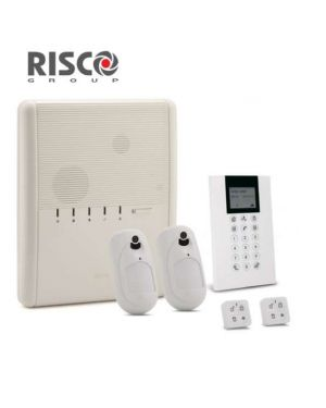 Risco Agility4 Wireless Alarm Solution, GSM Connectivity with 2 Camera Pet Detectors+ 2 Remote Controls
