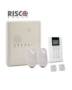 Risco Agility™4 Wireless Alarm Solution, IP Connectivity with 2 Camera Pet Detectors+ 2 Remote Controls