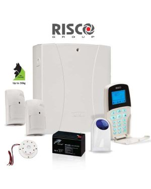 Risco LightSYS™2 alarm system,with 2 x Pet Detectors