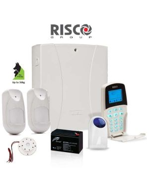 Risco LightSYS™2 Home Alarm System with 2 x Wireless Detectors