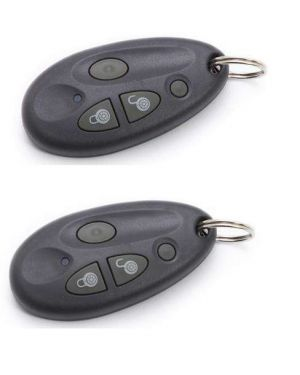 Risco Remote Control, 4 Button, 2 Pack