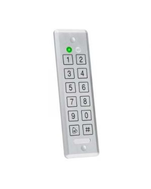 Rosslare 2x6 PIN Keypad Reader, Wiegand/Relay Out, Ultra Slim, IP68,AYCE55