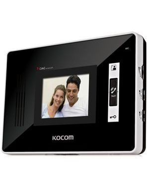 "Kocom 3.5"" Handsfree additional monitor for KCV-D352 2 wire system"