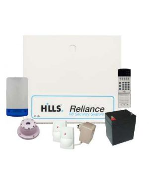 Hills Reliance 8 With Vertex Code Pad + 2 Quad Detectors