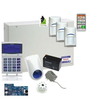 Bosch Solution 6000 Alarm System IP Kit with 3 x Gen 2 Tritech Detectors