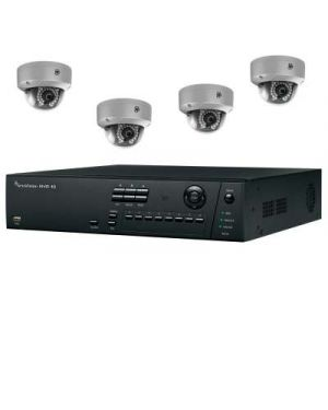 Truvision CCTV IP Kit, 4 Channel with 4 Bullet Camera's 4 Megapixel
