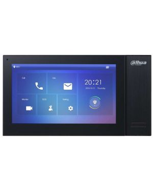 Dahua IP Intercom Kit 7 inch Touch Screen Black Villa Door Station