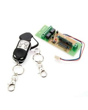 Bosch Delux Keyfob Kit, Wireless Receiver + 2 Remotes with 4 buttons. Suits 2000, 880 Bosch, 844,862