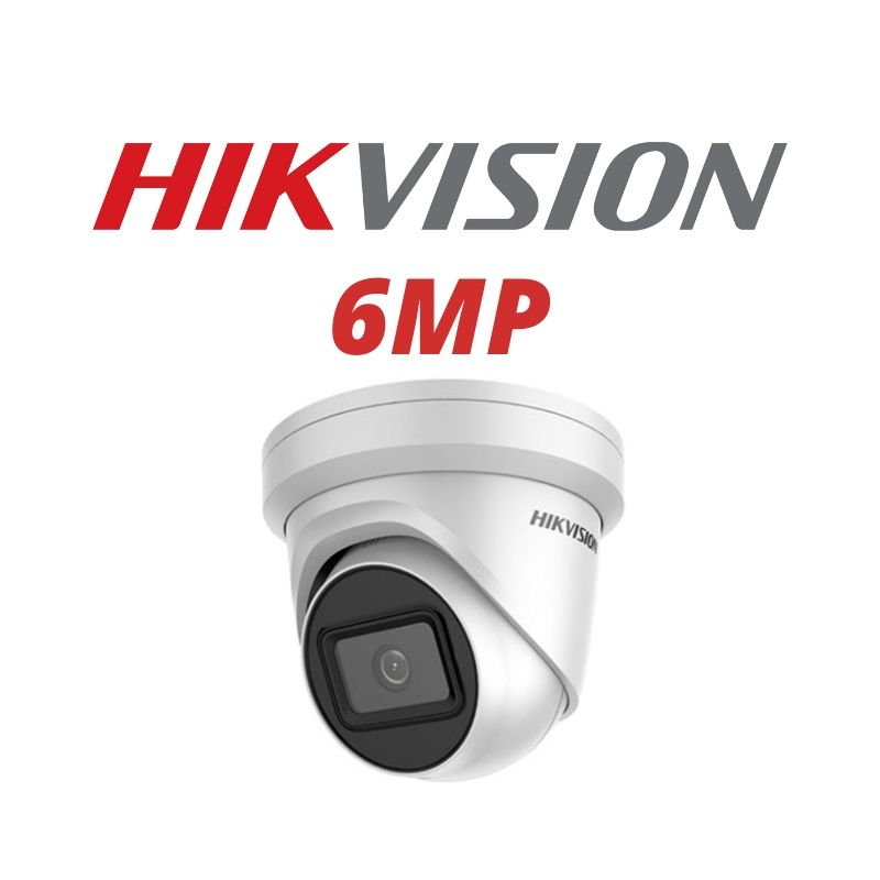 Hikvision 6MP Flat Eye with Darkfighter Technology