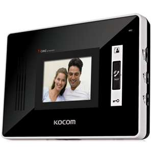 "Kocom 3.5"" Handsfree additional monitor for  KCV-D354  4 wire system"