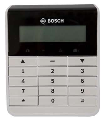 Bosch Text Keypad