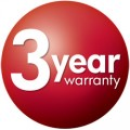 Bosch 3 Year Manufacturer Warranty